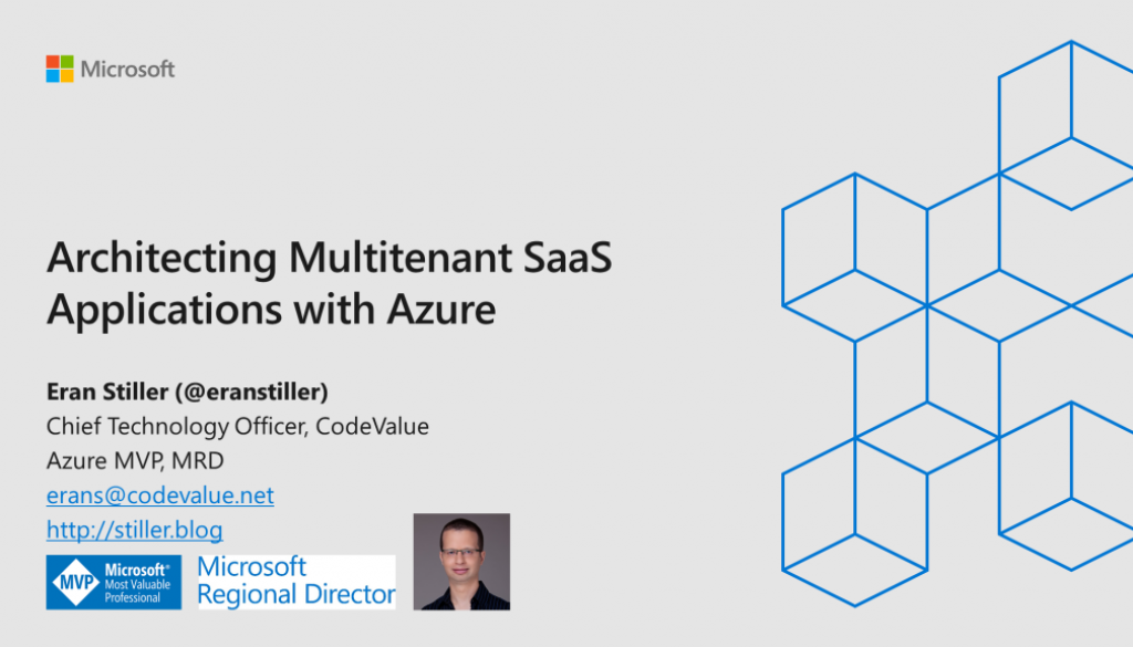 Architecting Multitenant SaaS Applications with Azure Slide Cover