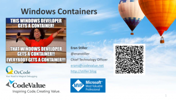Windows Containers Slide Cover