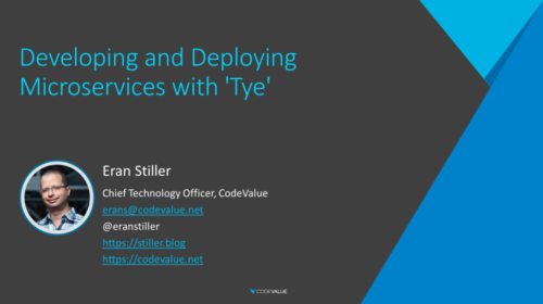 Developing and Deploying Microservices with Tye